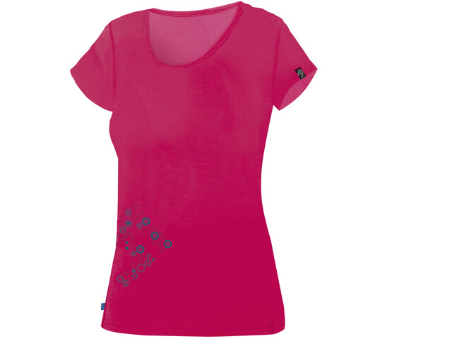 Directalpine Furry 1.0 Lyhythihainen T-paita Naiset, rose